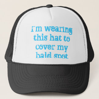 bald spot coverer trucker hat