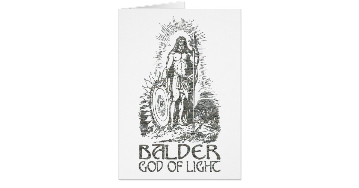balder the god of light joy purity beauty innocence and reconciliation Balder is the god of light and purity in norse mythology and all the gods praises him for his beauty balder is the second son of odin and frigg, he has many brothers one of them is the thunder god thor balder is married to the goddess nanna and together they have a son named.