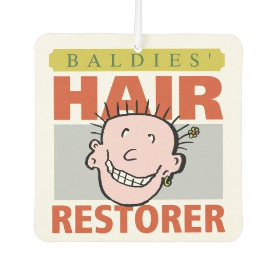 Baldies Hair Restorer Car Air Freshener