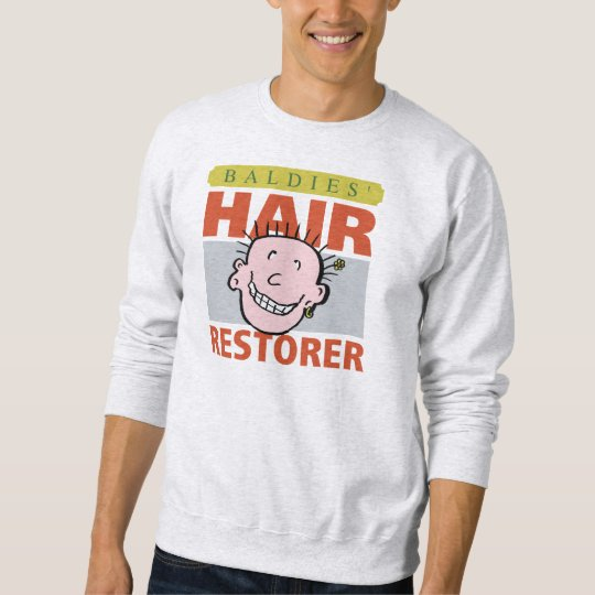 Baldies Hair Restorer Sweatshirt