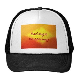 baldige besserung-early improvement mesh hats