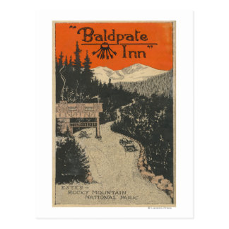 Baldpate Inn Promotional Poster # 1 Postcard