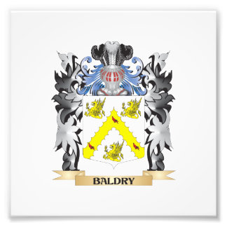Baldry Coat of Arms - Family Crest Photo Print