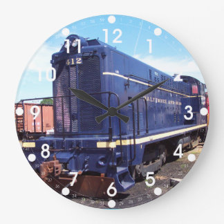 Baldwin B&O Locomotive #412 Wall Clock