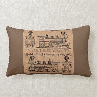 Baldwin Freight Locomotive Lumbar Cushion
