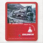 Baldwin Locomotive S-2 PRR Steam Turbine Mouse Mat