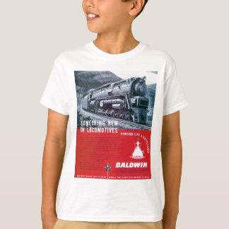 Baldwin Locomotive S-2 Steam Locomotive T-Shirt
