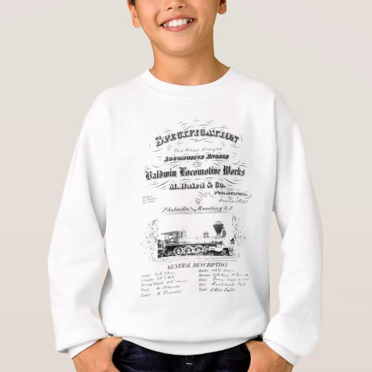 Baldwin Locomotive Works 1868 Sweatshirt