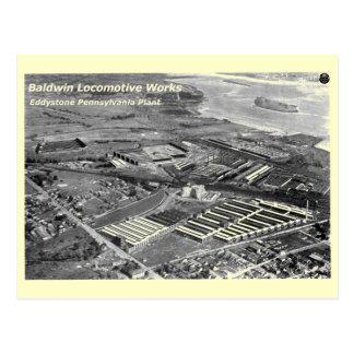 Baldwin Locomotive Works,Eddystone Pennsylvania Post Cards