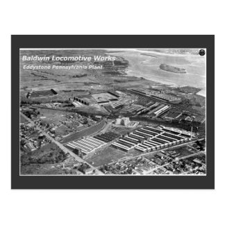 Baldwin Locomotive Works Eddystone Pennsylvania Post Card