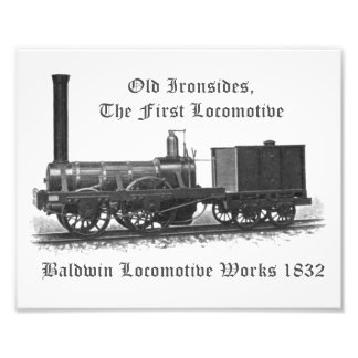 Baldwin Locomotive Works, Old Ironsides 1832 Photographic Print