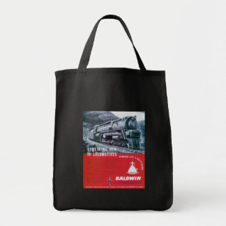 Baldwin Locomotive Works S-2 Steam Turbine Tote Bags