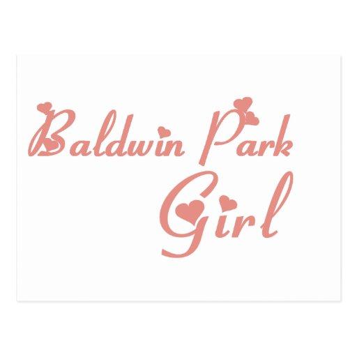 Baldwin Park Girl tee shirts Postcards