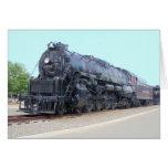 Baldwin- Reading Railroad Locomotive 2124 Greeting Card