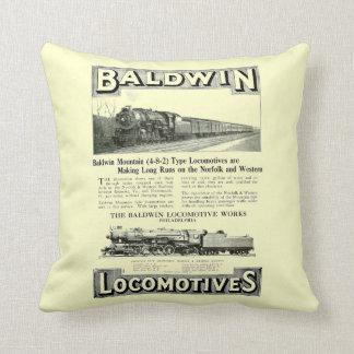 Baldwin Steam Locomotive Mountain Type in 1924 Cushion