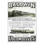 Baldwin Steam  Locomotive Works Greeting Cards