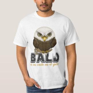Baldwin The Cute Bald Eagle T-Shirt