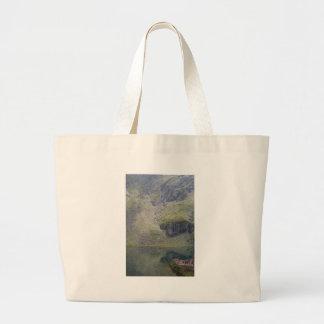 Balea lake large tote bag