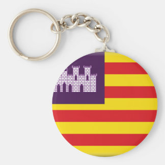 Balearic Islands (Spain) Flag Key Ring