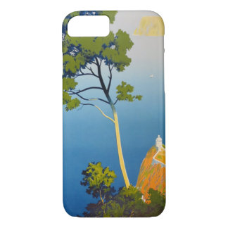 Balearic Islands Vintage French Travel iPhone 7 Case