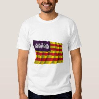 Balearic Islands waving flag Shirt