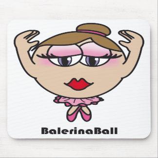 Balerina Ball Mousepads