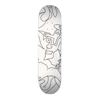 Bales Aneh Skateboard 20 sketch version