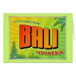 BALI CARD