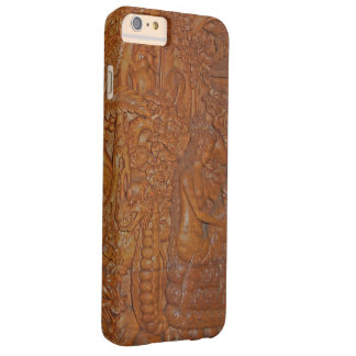 Bali Dragon Fairytale Wood Art Barely There iPhone 6 Plus Case