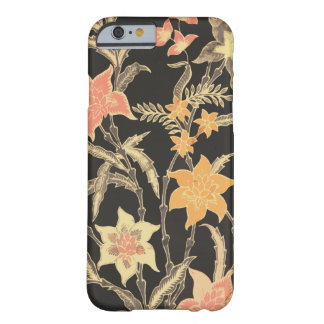 Bali Flowers Batik Barely There iPhone 6 Case