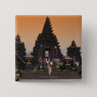 Bali, Indonesia 15 Cm Square Badge
