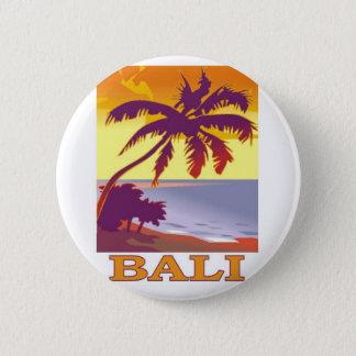 Bali, Indonesia 6 Cm Round Badge
