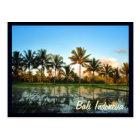Bali Indonesia Postcard