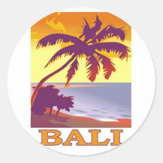 Bali, Indonesia Round Sticker