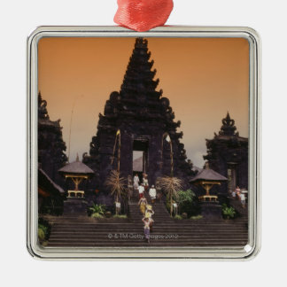 Bali, Indonesia Silver-Colored Square Decoration