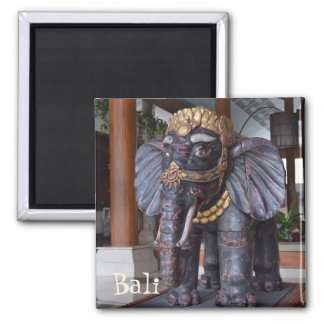 Bali Indonesia Square Magnet