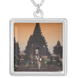 Bali, Indonesia Square Pendant Necklace