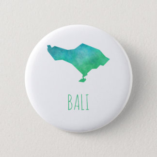 Bali Map 6 Cm Round Badge