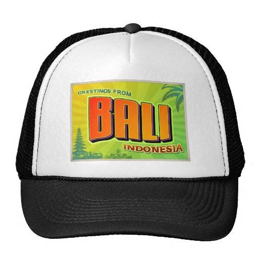 BALI MESH HATS