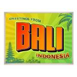 BALI POSTCARD