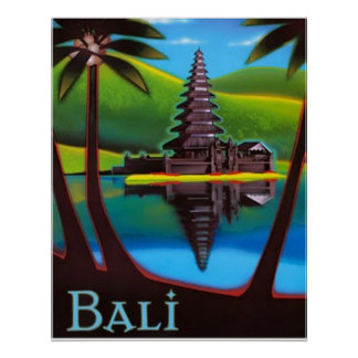 Bali-Poster Poster