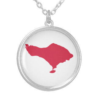 Bali Round Pendant Necklace