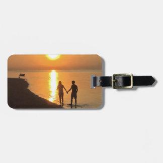 Bali Sunset Luggage Tag