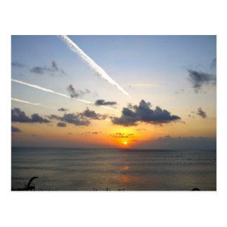 Bali sunset postcard