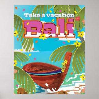 Bali Travel poster.
