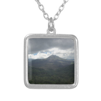 Bali Volcano Personalized Necklace