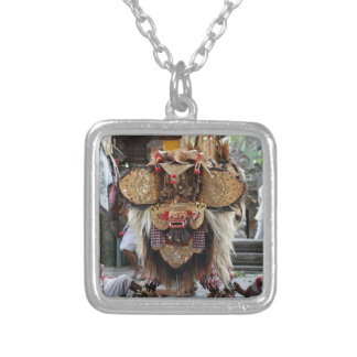 Balinese Barong dance performance Personalized Necklace
