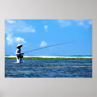 Balinese Fisherman Posters