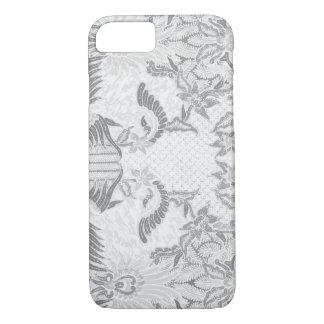 Balinese flowers batik iPhone 7 case