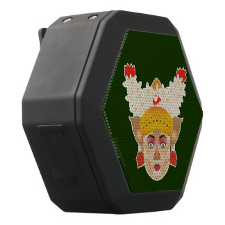 Balinese Girl Dancer Black Bluetooth Speaker